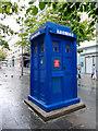 NS5865 : Police box on Sauchiehall Street by Thomas Nugent