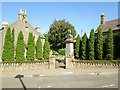 NT9065 : War  Memorial  and  garden  Coldingham by Martin Dawes