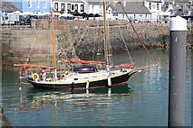 NW9954 : Meander leaving Inner Harbour, Portpatrick by Billy McCrorie