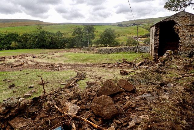 Flood damage, Faggergill