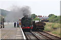 SJ2929 : Steam Locomotive, Oswestry by Chris Allen
