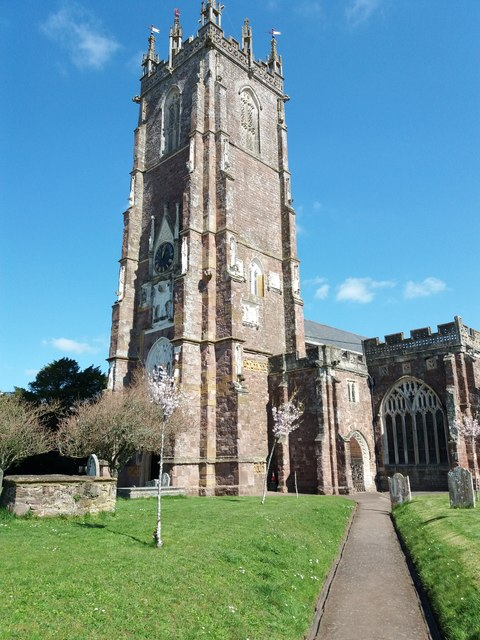 Cullompton: St Andrew's church tower