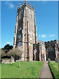 ST0207 : Cullompton: St Andrew's church tower by Martin Bodman
