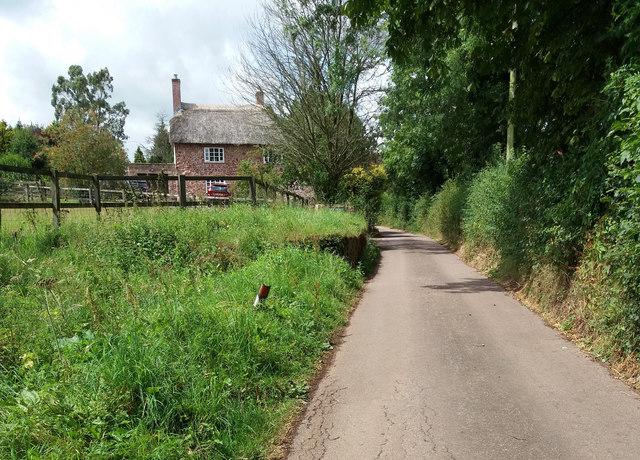 Cullompton: nearing Hellmore Farm