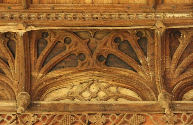 Great Hall cornice