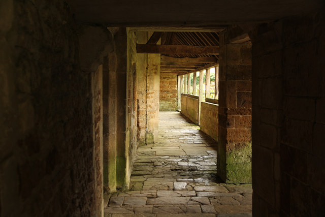 Lyddington Bede House passage