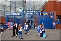 NS5564 : The Copland Road Gates at Ibrox Park by Steve Daniels