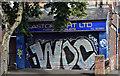 J3472 : Graffiti, University Avenue, Belfast (August 2019) by Albert Bridge