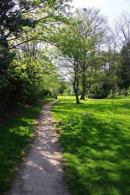 Footpath in Bewdley Hill Wood, Bewdley Hill, Kidderminster, Worcs