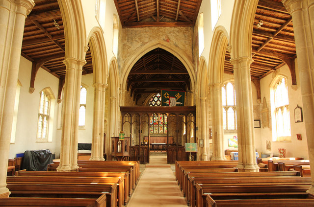 St.Andrew's church nave