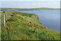 HY4900 : Clifftop on Lamb Holm by Bill Boaden