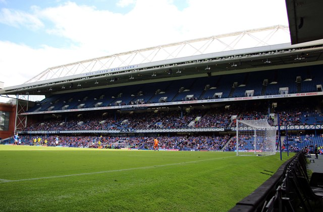 The Bill Struth Main Stand in Ibrox Stadium