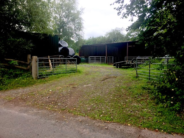 Farmyard at Bryncoch