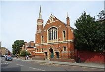 TQ2284 : Willesden Green Baptist Church by JThomas