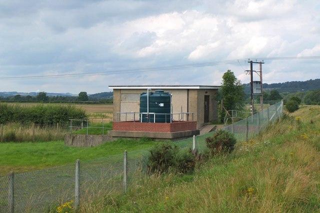 Sewage pumping station, Corbridge