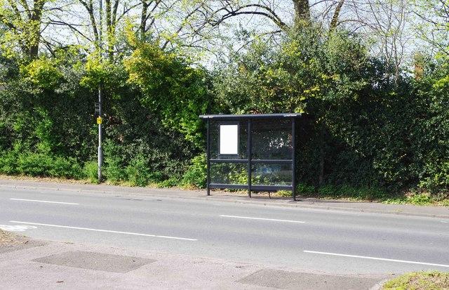 Bus stop & shelter, Bewdley Hill, Kidderminster, Worcs