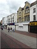 TQ7567 : High Street, Chatham by John Baker