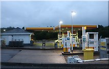 TM1840 : Shell petrol station on the A14, Ipswich by David Howard