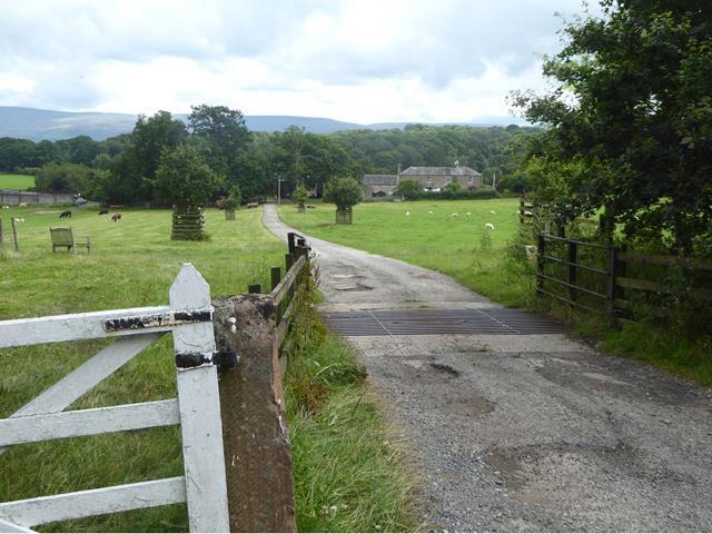 Driveway to Keld Farm