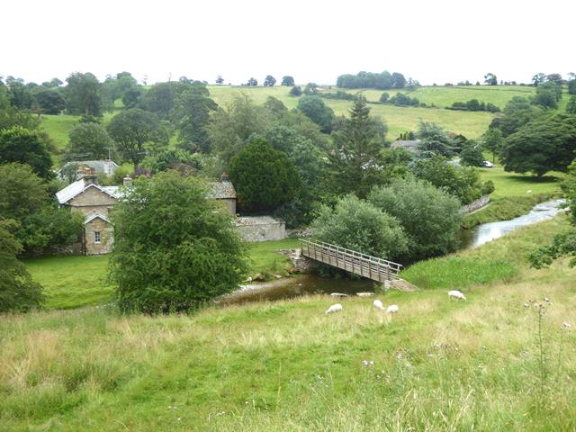 Footbridge over the River Lyvennet