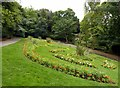 SK5640 : Victorian flower garden, Nottingham Arboretum by Alan Murray-Rust