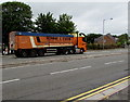 ST3090 : Ronnie S. Evans lorry, Malpas Road, Newport by Jaggery