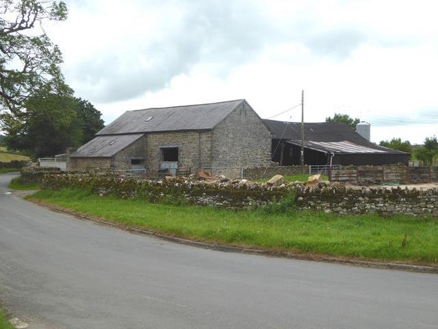 Farm buildings at Meaburn Hall