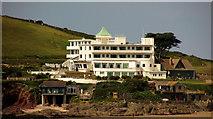 SX6443 : Burgh Island Hotel by Derek Harper