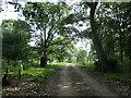 SK1521 : Public footpath entering Yoxall Park by Christine Johnstone