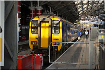SJ3590 : Train #156451 at Lime Street Station, Liverpool by Ian S