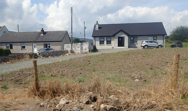 New bungalow on the Low Road, Meigh
