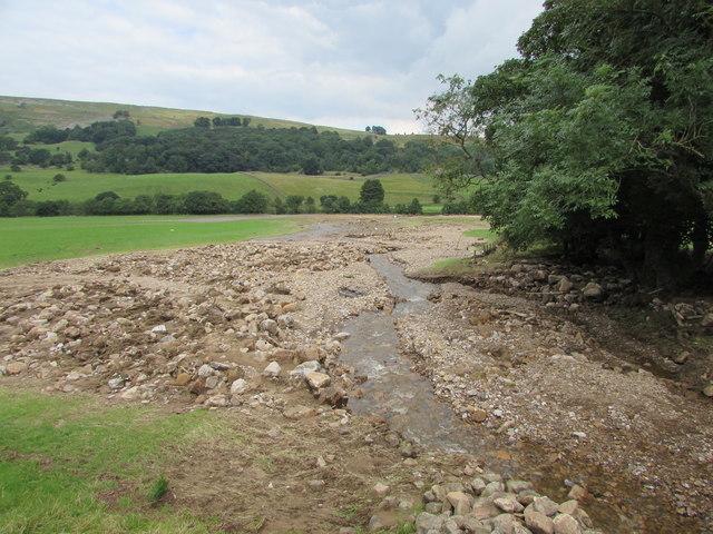 Cogden Beck suffered a flash flood