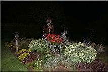 TA1180 : Garden display by Filey beach by David Howard