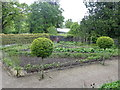SN5822 : Vegetable garden at Aberglasney by Eirian Evans