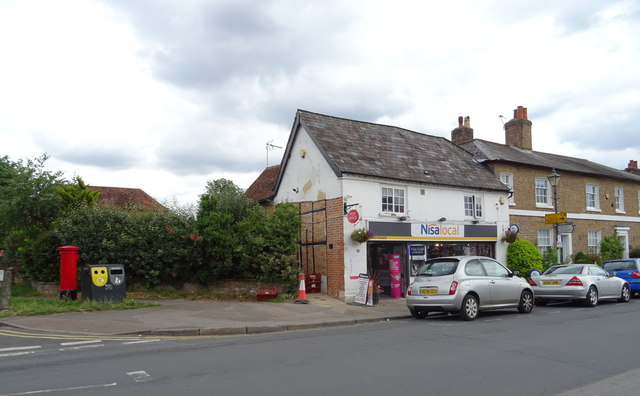 Post Office and shop on High Street, Redbourn