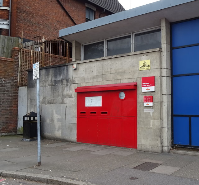 Postboxes, Luton Sorting Office, Dunstable Road