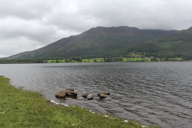 Bassenthwaite Lake, Ullock Pike and Long Side from Blackstone Point