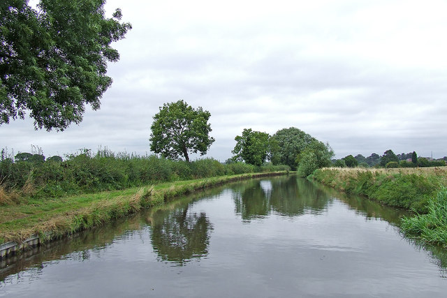 Canal south of Stafford