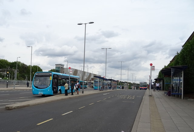Bus station, Luton Interchange