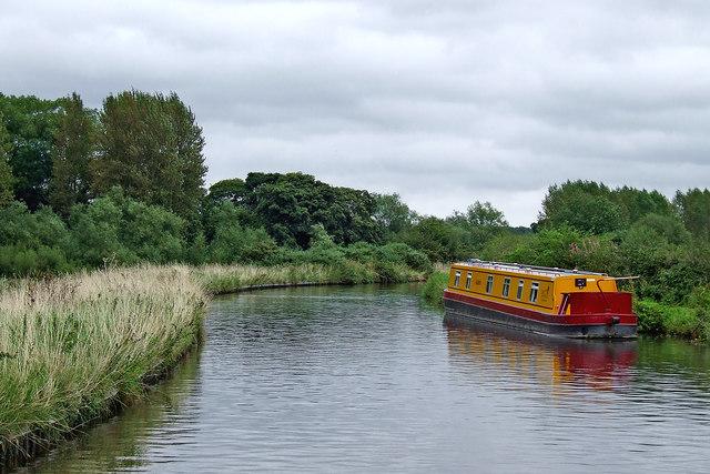 Canal near Milford in Staffordshire