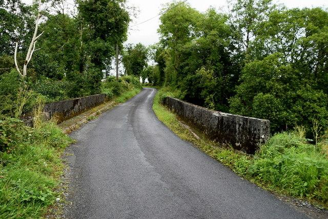 Carrickaness Bridge along Bradan Road