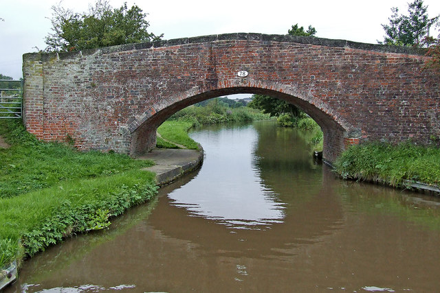 Ingestre Bridge near Weston-on-Trent in Staffordshire