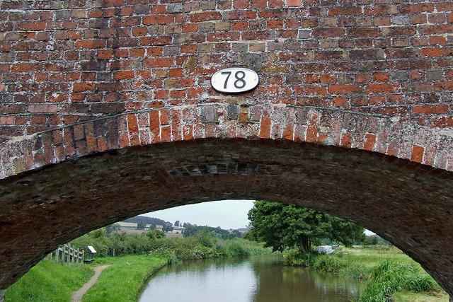 Ingestre Bridge (detail) near Weston in Staffordshire