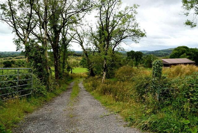 A rough lane, Cornavarrow