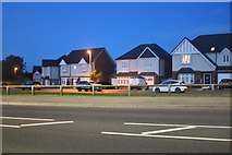 TA1080 : Houses by Muston Road, Filey by David Howard