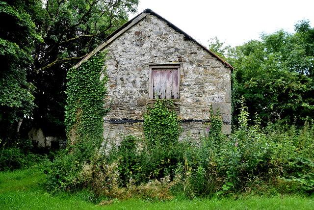 Stone walled barn, Cornavarrow
