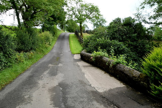 Small bridge along Tattysallagh Road, Cornavarrow