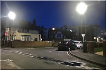 TA1180 : South Crescent Road at the junction of Southdene by David Howard