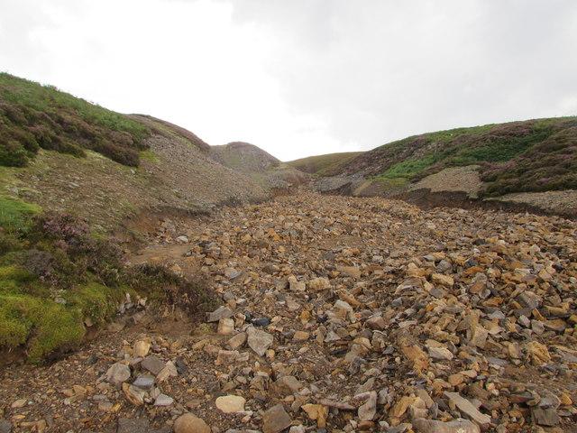 Ridley Hush after a Flash Flood