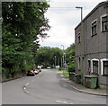 ST1597 : East along the B4254, Pengam by Jaggery